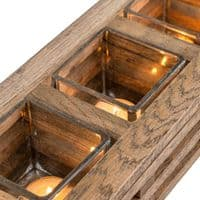 Solid Oak Candle Holder | Handmade in the UK